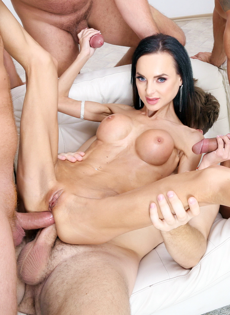 Aletta Black - Welcome Back Aletta Black 4 On 1 Balls Deep Anal And DP, DAP, Gapes, Creampie Cocktail With Swallow GIO1242 (HD) 2019