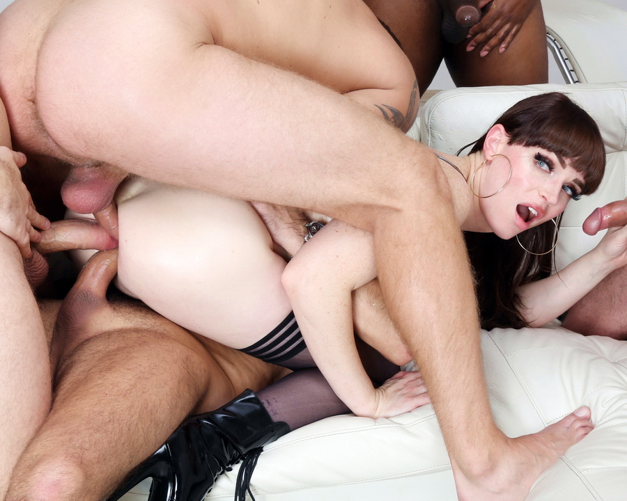 Natalie Mars - Trans In Piss Natalie Mars 5 On 1 Balls Deep Anal, DAP, Pee Drink, TAP And Swallow BTG001 (FullHD) 2020