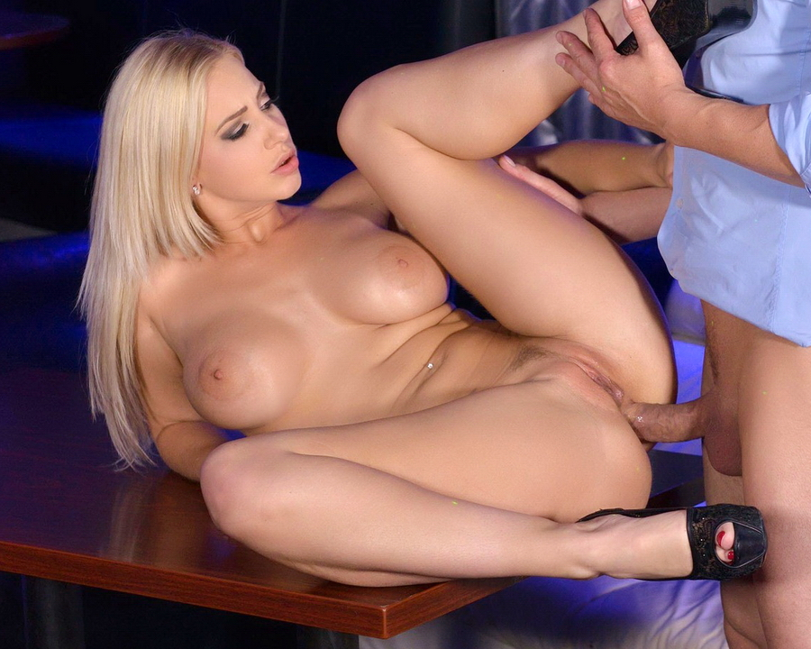 Natalie Cherie - Blonde Dancer Natalie Cherie Cant Wait For His Veiny Dick Inside Her Pink GP369 (SD) 2018