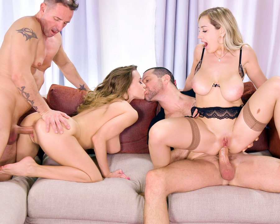 Josephine, Siya Jey - Josephine And Siya Jey Fulfill Their Dirty DP Desires In A Swingers Party GP1327 (SD) 2020