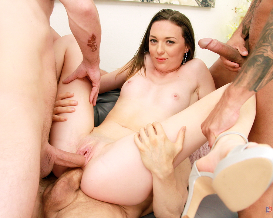 Isabella Della - Hot White Teen Isabella Della First Time To Gonzo With First Time Double Penetration SZ2466 (HD) 2020