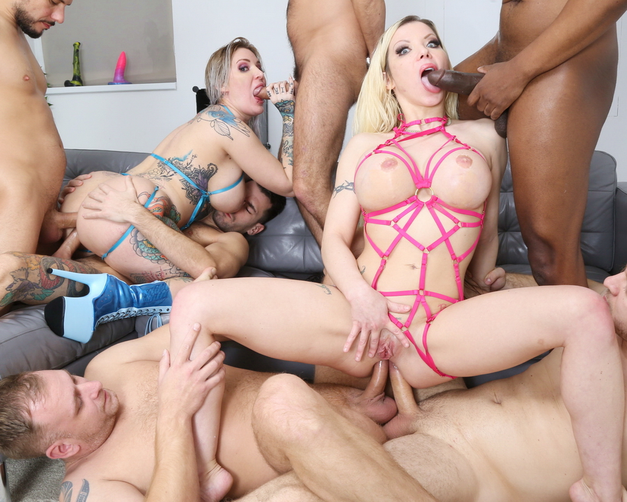Barbie Sins, Alexxa Vice - UK Supersults With Barbie Sins And Alexxa Vice 2, Orgy With Balls Deep Anal, DAP, Gapes, Buttrose GIO1692 (HD) 2021