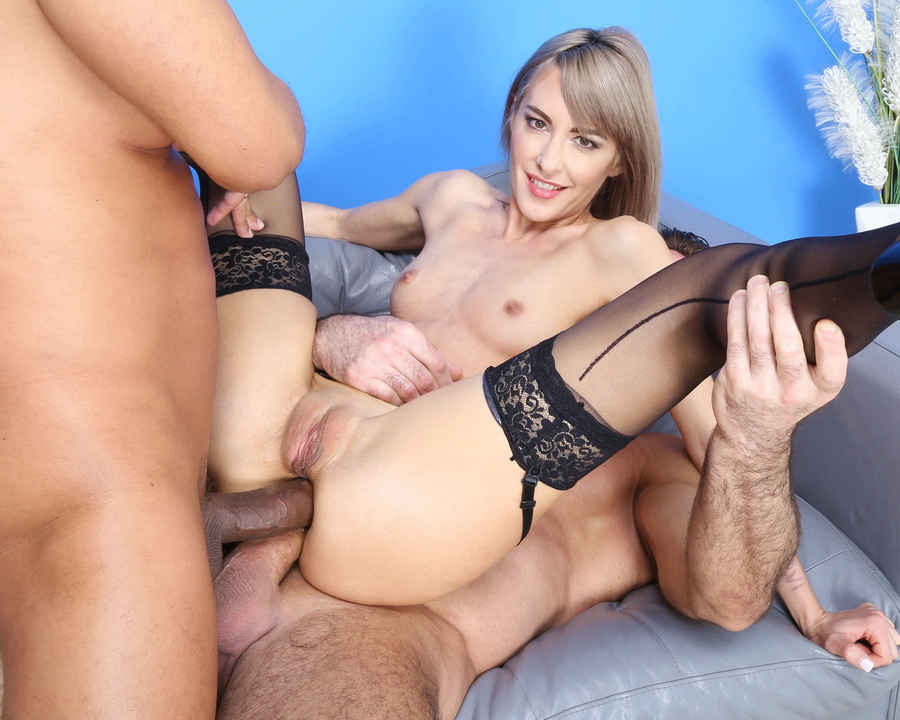 Vicky Sol - Vicky Sol VS 2 Big Dicks With Balls Deep Anal, DAP, Gapes And Swallow GIO1719 (HD) 2021