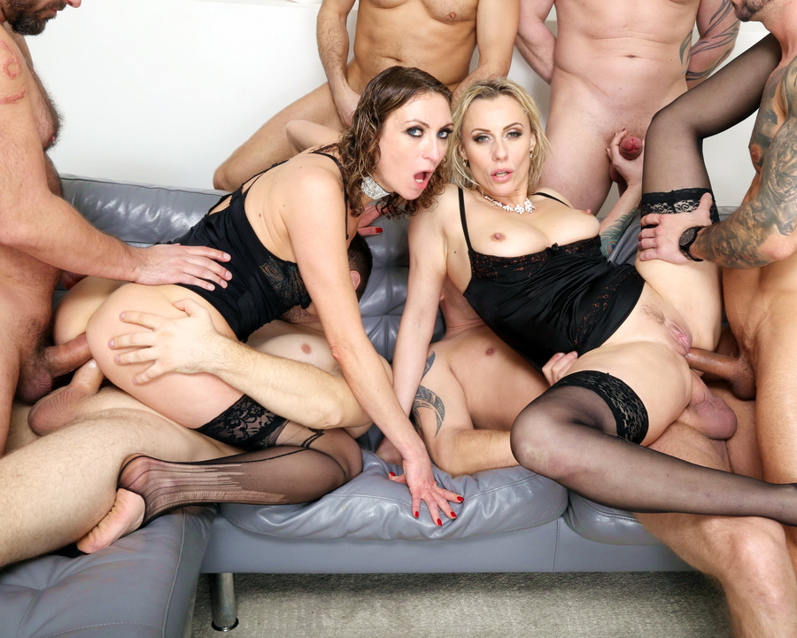Brittany Bardot, Julia North - Monsters Of Milf Goes Wet With Julia North And Brittany Bardot 2, Balls Deep Anal, DAP, Anal Fisting, ATOGM, Buttrose GIO1769 (FullHD) 2021