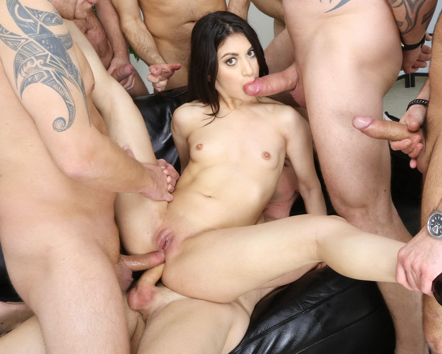 Francesca Palma - Francesca Palma 7 On 1 Balls Deep Anal, DP, DAP, Squirting, Gapes, Almost ButtRose And Swallow GIO1786 (HD) 2021