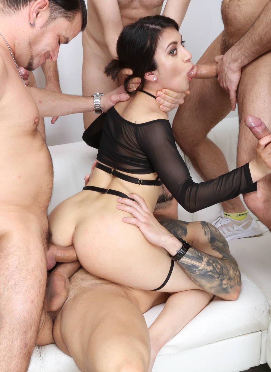 Francesca Palma - 6 On 1 DAP Manhandle With Squirt, Francesca Palma VS 6 Boys With DAP, Gapes, Squirt Drink, ButtRose And Swallow GIO1806 (SD) 2021